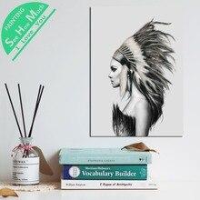 Лучший!  1 Шт. Ангел на белой бумаге HD Печатные Холст Wall Art Плакаты и Принты Плакат Живопись Оформление