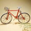 Высокое Качество 19.5x12 см DIY Ремесло Мини Сплав Велосипедов, может быть Аксессуары для Кукольного Домика