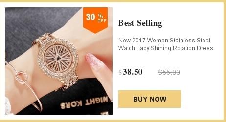 relógio de pulso de aço inoxidável marca