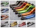 Moto printemps flexible extensible cnc d'embrayage leviers frein pour kawasaki zx6r 636 zx10r z1000 z750 z1000sx ninja 1000 tourer