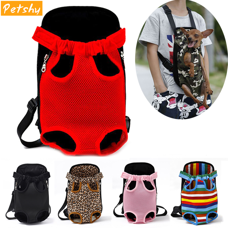 Petshy Dog-Carrier-Bag Dog-Backpack Puppy Kangaroo Travel Front Breathable 10-Colors