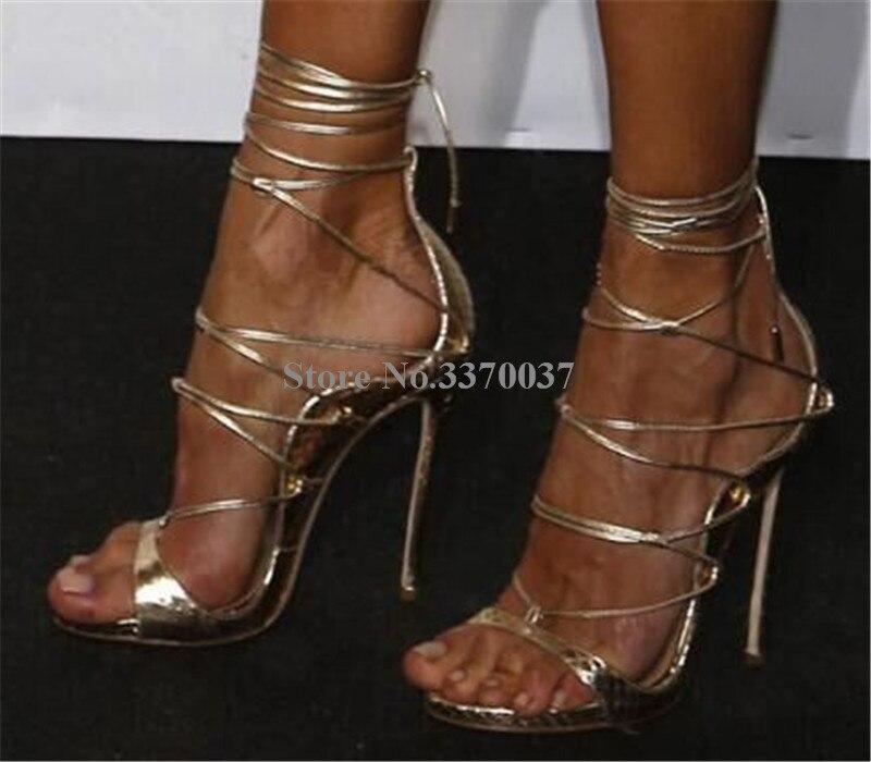 Lacets Motif Picture Bout out As Chaussures En À Robe as Sandales Cuir Mode Hauts Femmes Cut Gladiateur D'été Picture Talons Ouvert Nouvelle HYPvvgnW