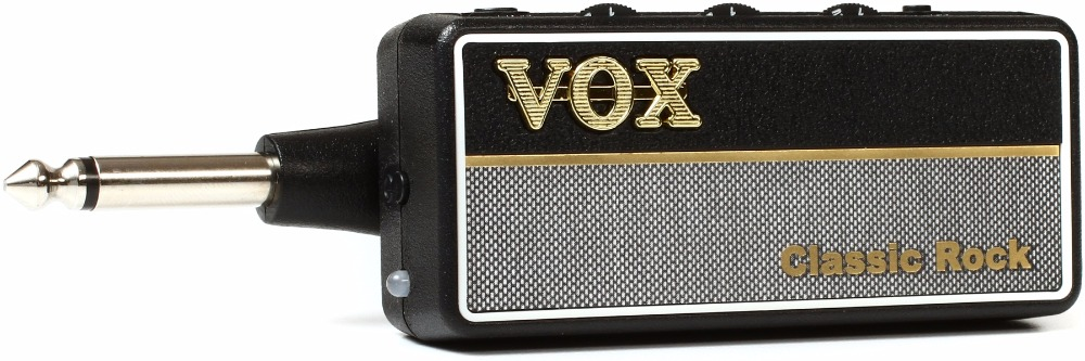 VOX AP2CR amPlug Classic Rock G2 Guitar Amplifier with 3 Gain Modes, Speaker Cabinet Emulation, and Aux in Jack vox mini3 g2 ivory