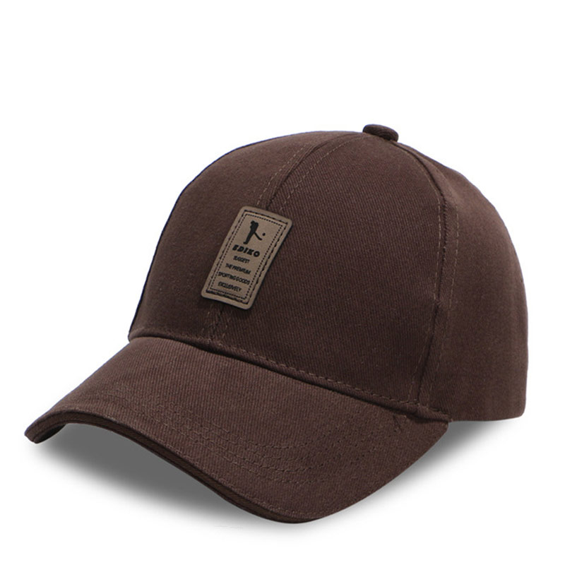 Women Mens Adjustable Golf Caps Panel Sports Hats Brown Black Gray Red Army  Green White for Head 56 60cm-in Baseball Caps from Apparel Accessories on  ... 057f0183bc9