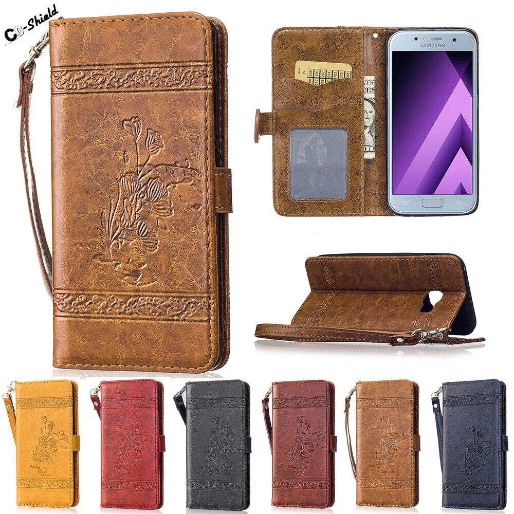 Flip Case SM-A520F/DS for Samsung Galaxy A5 A 5 2017 520 A520 A520F SM-A520F SM-A520 A520F/DS Case Phone Leather Cover SM-A520L