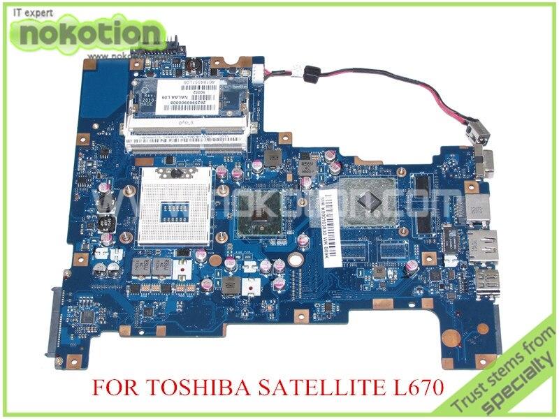 NALAA LA-6042P Rev 1.0 MB K000103830 For toshiba satellite L670 L675 laptop motherboard HM55 ATI HD 5470 graphics