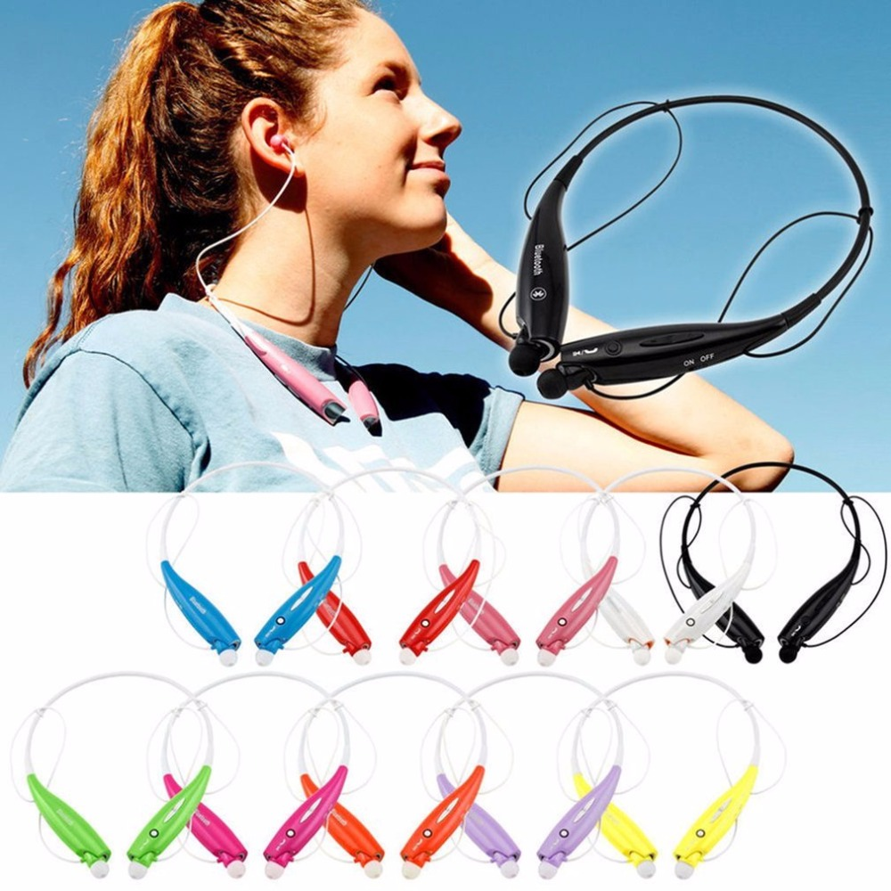 Bluetooth Wireless Hand Free Sports Stereo Headset Earphone headphone For Samsung for iPhone free shipping wireless bluetooth stereo headset headphone earphone for samsung for iphone for htc for lg