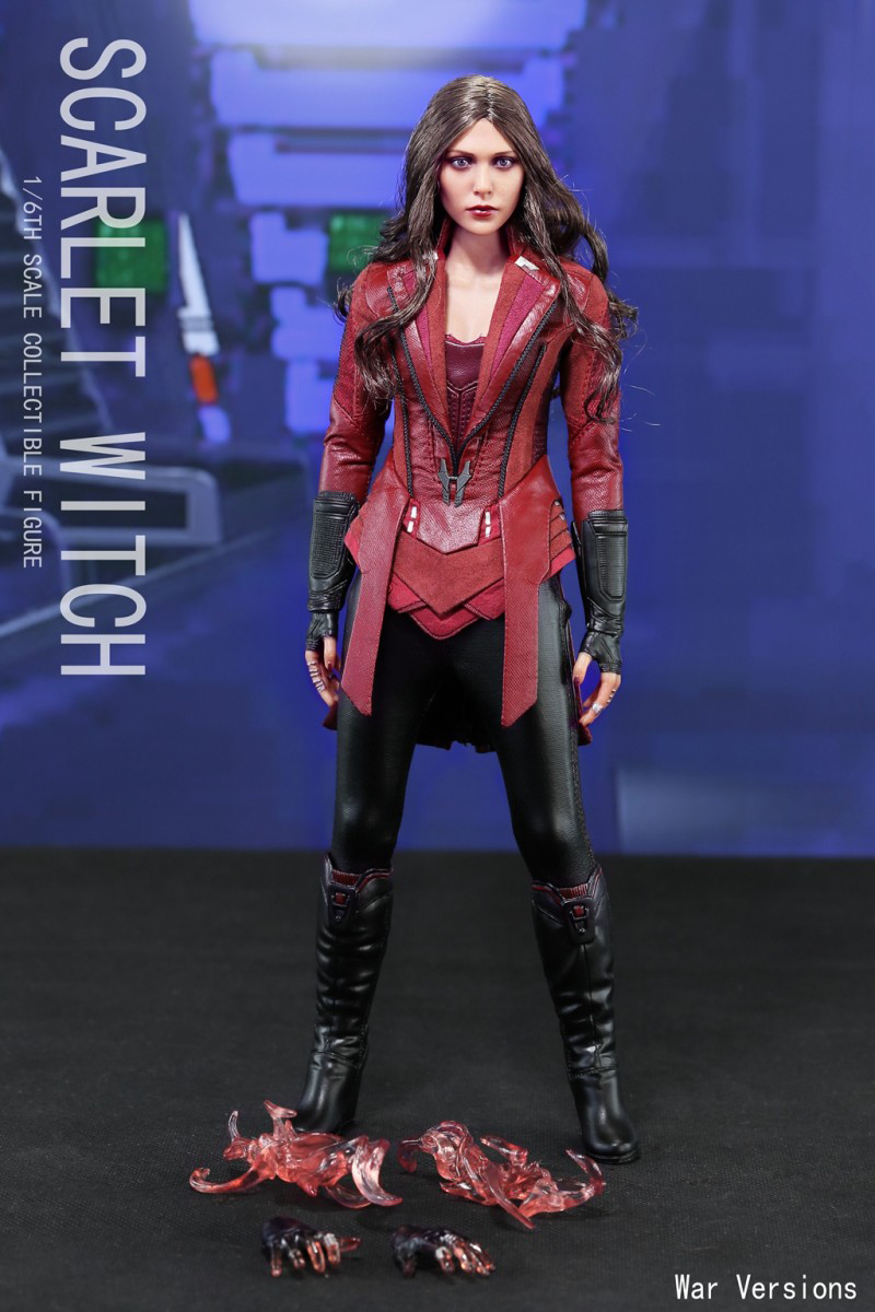 1/6 Scale Avengers Age of Ultron Wanda Scarlet Witch  full set Action Figure War Version for Collections 1 6 scale resident evil 6 leon scott kennedy full set action figure for collections