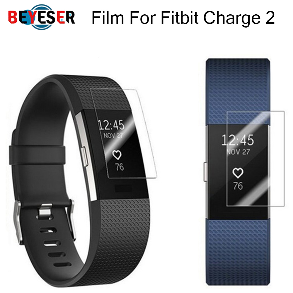 Protective Film For Fitbit Charge 2 Charge2 Band Anti-Scratch TPU Screen Protectors Bracelet Screen Clear Ultra Thin