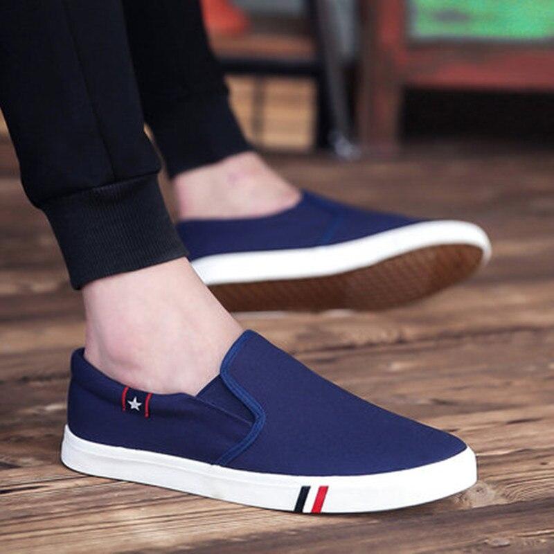 Sneakers Mode Respirant De Printemps Homme Chaussures Toile D'été Hommes Marche Lumière Noir Casual automne bleu Mens blanc rq8vAr
