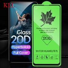 20D полное покрытие из закаленного стекла для huawei Honor 20 Pro 20i 10 Lite View 20 8X 8A Защита экрана для huawei P30 Lite Nova 5 4 4e