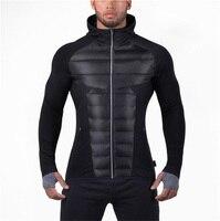 Brand Mens Gyms Hoodie Sweatshirt Bodybuilding Jacket Autumn Winter Warm Sportwear Men Tracksuit Men Zipper Coat