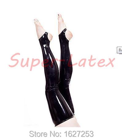 Venda quente! perneiras de borracha látex de borracha meias elevadas da coxa para as mulheres