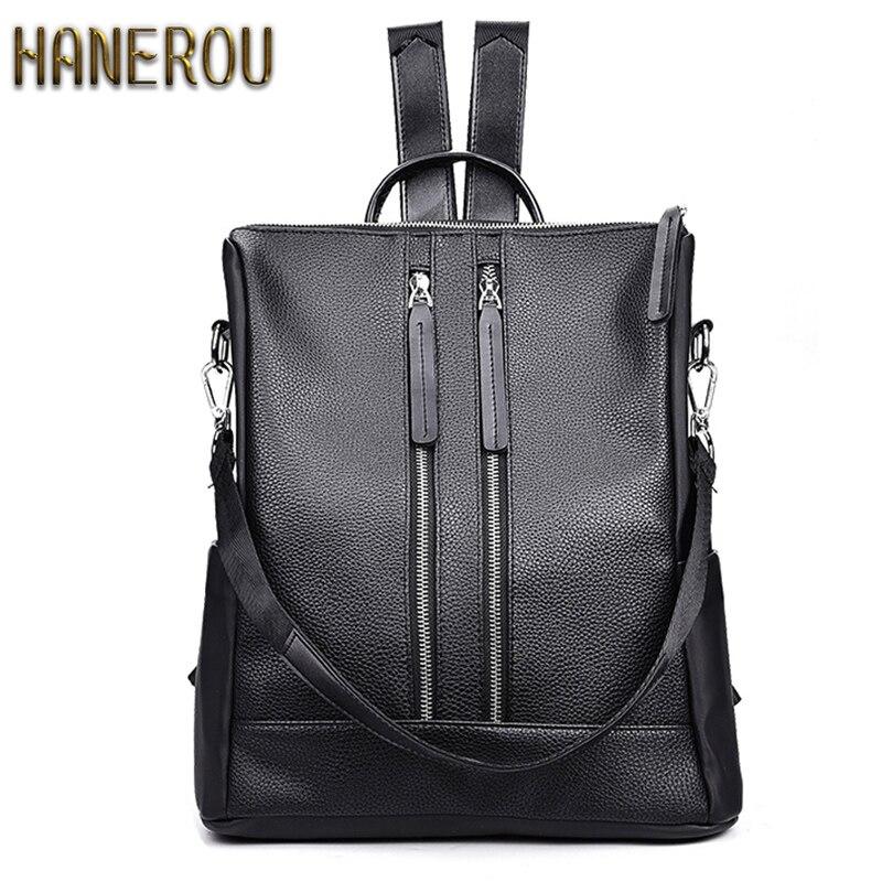 2016 Brand New Women Backpack PU Leather Backpacks Girls Fashion Schoolbag Bag Big Bolsas Mochilas Femininas