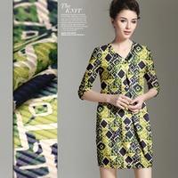 Pinstripe Silk Chiffon Dress Shirt Silk Fabrics And Delicate Fabric Wholesale High Quality Silk Cloth