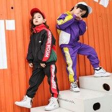 Ragazze dei ragazzi dei vestiti 14 anni Ragazzi Copre Gli Insiemi Vestiti Adolescenti 2019 Bambini Vestiti Delle Ragazze Primavera Insieme del Vestito di Sport 2pcs manica lunga
