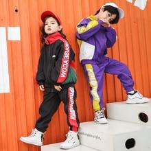 Vêtements de sport, printemps, ensemble 2 pièces à manches longues, pour garçons et filles de 14 ans, modèle 2019