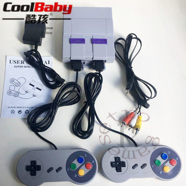 New Video Gaming Console 16 Bit Handheld Game Player For Bulid-in 94 Different Classic Games TV Output Gift for Children