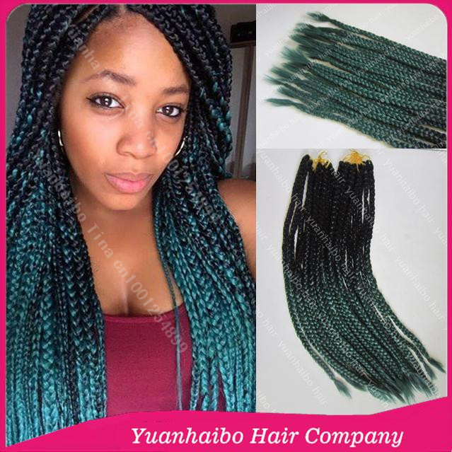 Crochet Braids With Color