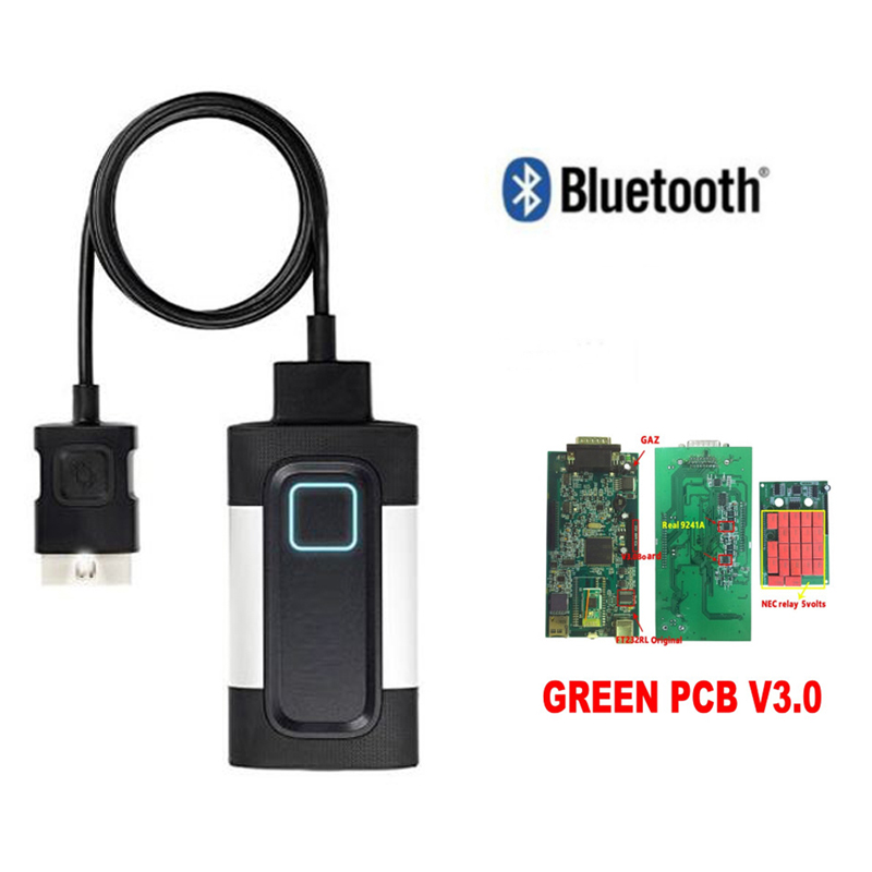2018 new with Bluetooth 2015R3 or 2016R0 VD DS150E CDP CARs TRUCKs obd2 scan diagnostic tool for autocoms