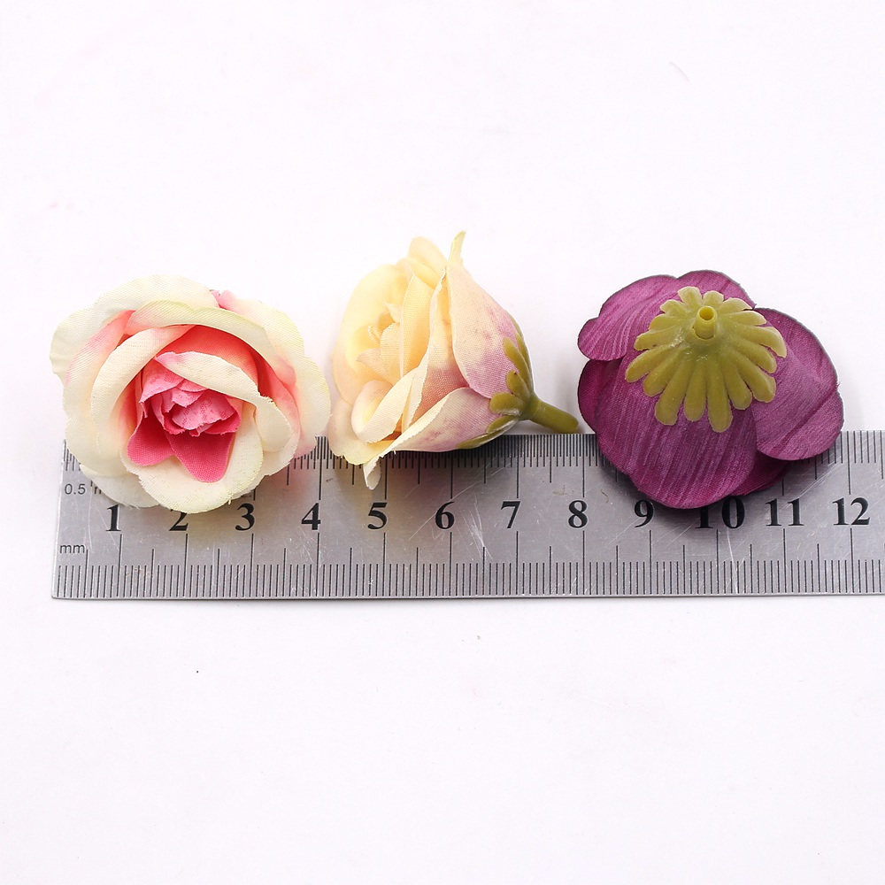 Aliexpress buy 10pcs 4cm silk rose artificial flower wedding aliexpress buy 10pcs 4cm silk rose artificial flower wedding home furnishings diy wreath sheets handicrafts simulation cheap fake flowers from izmirmasajfo Image collections