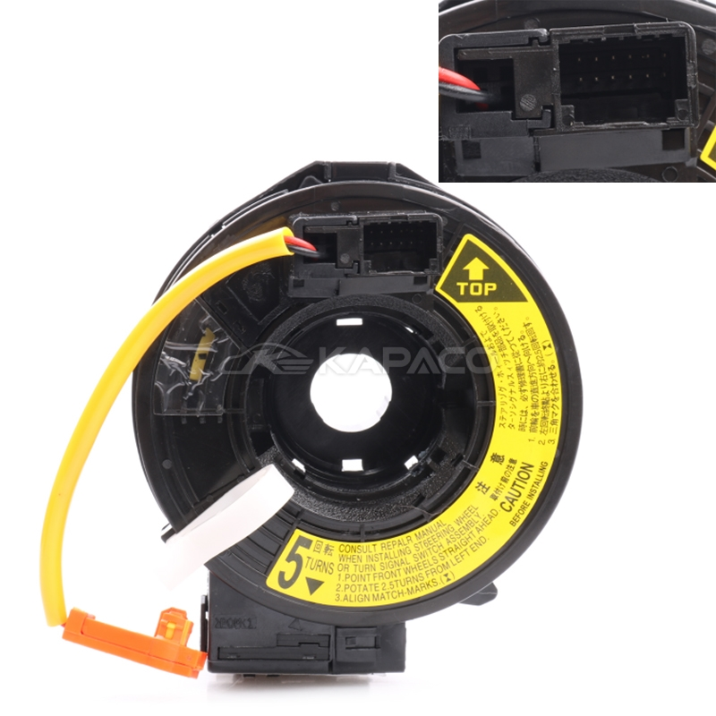 84306-58011 8430658011 84306 58011 Coil Spring Contact Cable Slip Ring For Toyota Corolla Avensis Verso Previa Camry
