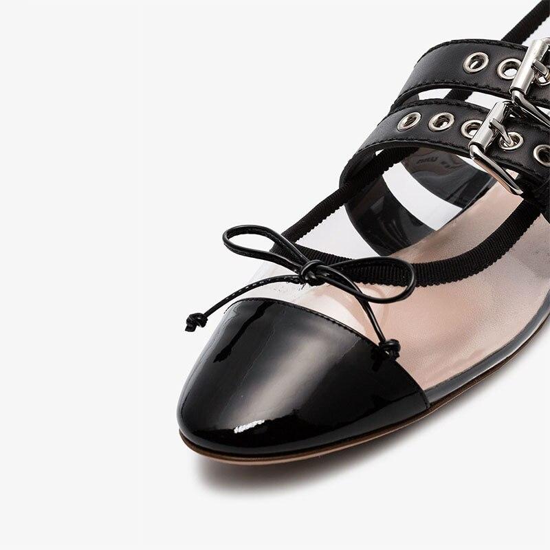Mode Élégante Verni Appartements Ty01 Clair Boucle Poited À Fête En Dames Chaussures Mature Nouveauté 2019 noeud Cuir Papillon Femmes Orteil OYOxAEZFq