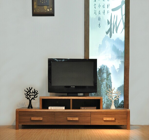 Chinese Simple Wood Cabinets Panels Combine The Living Room Tv Cabinet With Drawers And