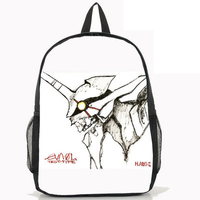 New Anime Neon Genesis Evangelion Backpack Anime EVA Sohryu Asuka Langley Nylon Laptop School Bag new arrive japanese cartoon anime wallet eva neon genesis evangelion student purse short billfold for young man cool gift choose