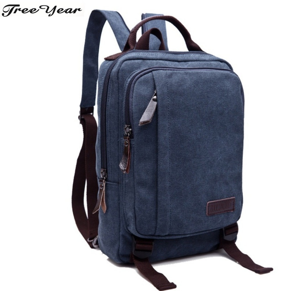 Vintage Backpacks High Middle School Student Schoolbag Large Capacity Backpack Men Preppy Style School Bag For Teenagers Boys