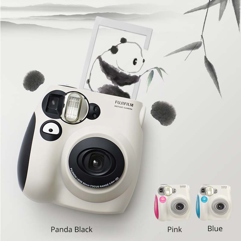 100% Authentic Fujifilm Instax Mini 7s Instant Photo Camera, Work with Fuji Instax Mini Film, Good Choice as Present/Gift