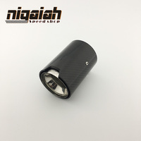 Real Carbon Fiber Exhaust Tip For M Performance Exhaust Pipe M2 F87 M3 F80 M4 F82