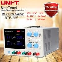 UNI T UTP3303 многоканальный Линейный источник питания постоянного тока 0 до 32 В/0 до 3A регулируемый, 5 В/3A фиксированной