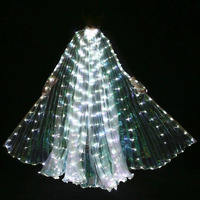 New Design LED Bellydance Isis Wings Popular Belly Dance Accessory LED Wings Sexy Stage Show Props