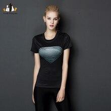 [AP] женщины Спортивная футболка Капитан Америка 3D Печатные Футболки Сжатия Рубашка Slim С Коротким Рукавом Marvel Косплей Супермен Топы(China (Mainland))