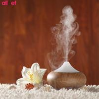 LED Ultrasonic Aroma Diffuser Air Humidifier Purifier Essential Oil Aromath 7 LED Night Light Cool Mist