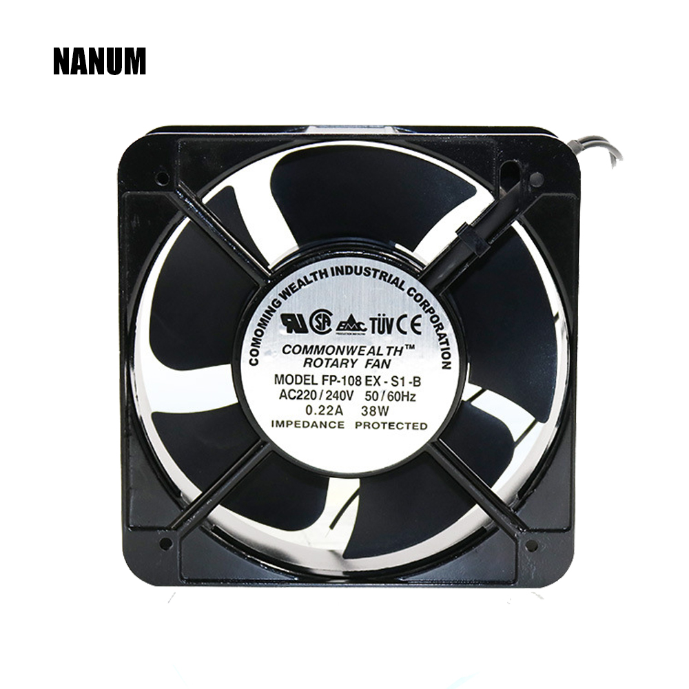 Cooling fan 220V Industrial control machine box industrial fan for KTV network cabinet Axial Fans 150 * 150 * 50mm exhaust fan