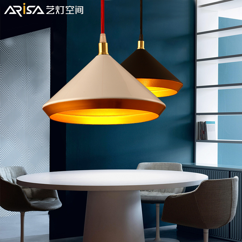 LED Nordic Cafe Hanging lights Novelty living room Fixtures restaurant bar Retro Lighting Modern iron dining room Pendant Lights nordic cafe hanging lights solid wood novelty living room fixtures restaurant bar lighting modern iron led dining pendant light