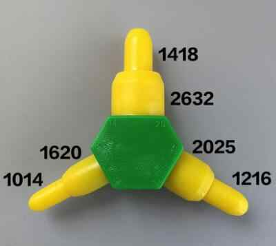 PEX-AL Reamer 10mm 12mm 14mm 16mm 20mm 26mm PPR Calibrator Pipe Tool Belling Expander Rounder