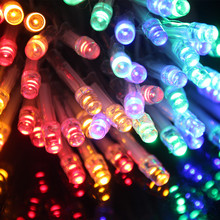 10LED/M LED Battery Operated Waterproof LED String Lights LED Fairy Light 10M 5M 4M 3M 2M For Christmas Party Wedding Decoration
