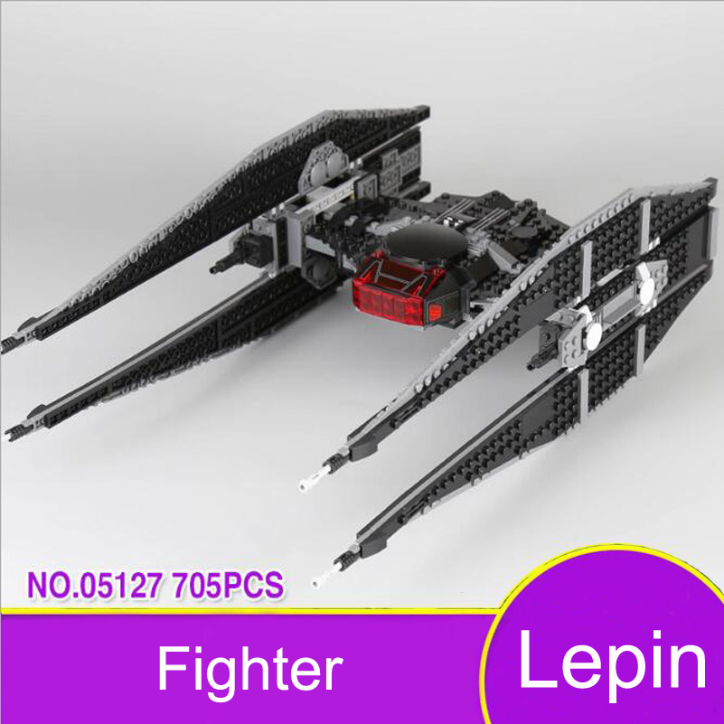 Lepin 05127 Tie Fighter Model Block Toys Education 705pcs Assembled Gifts For Children Christmas Stars War Building Blocks Set literacy through distance education a model for developing countries