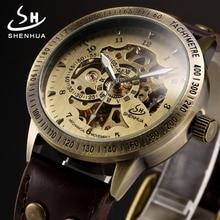 mains horloge montre squelette