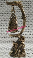Froude lucky draw copper hyacinth hanging Home Furnishing antique bronze decoration