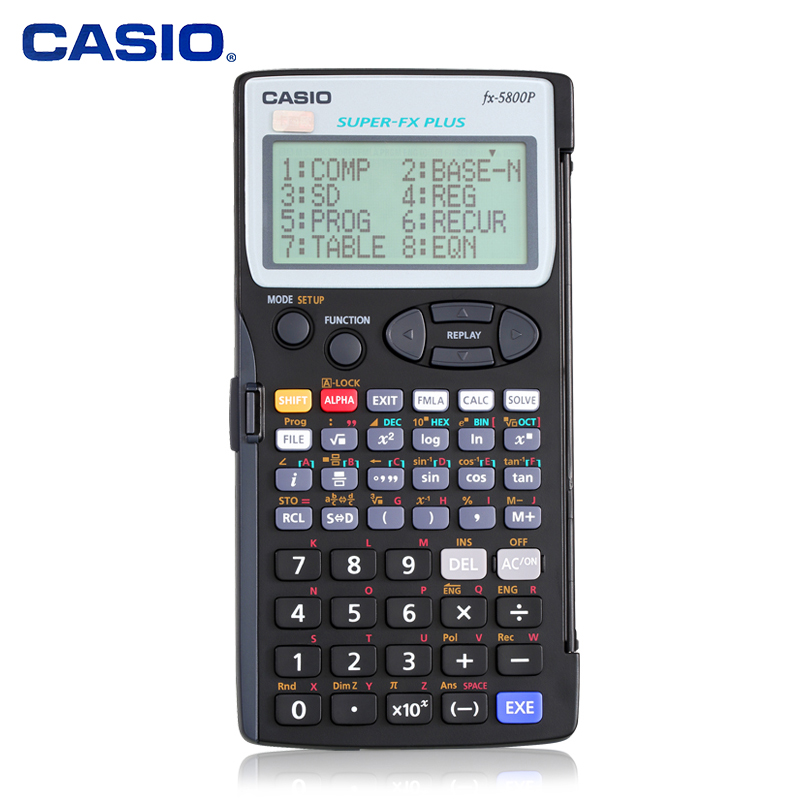 Programmable Statistical Surveying and Mapping Casio FX 5800P Function Engineering Special Building Program Surveying Calculator