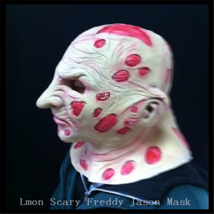 Halloween fête Cosplay effrayant films masque Jason Voorhees Freddy Hockey masque Festival fête Halloween mascarade masque adultes taille - 4