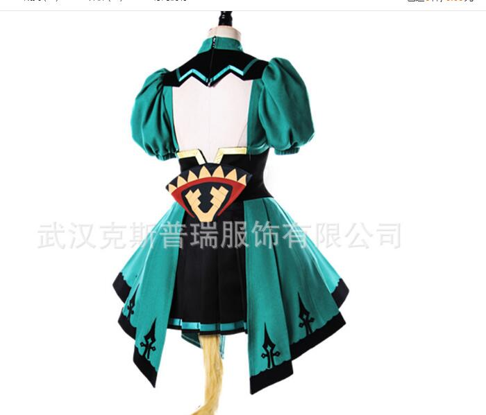 Fate Grand Order Fate Apocrypha Atalanta Tube Tops Dress Halloween Uniform Outfit Anime Cosplay Costumes For Women Rated 4.9 /5 image