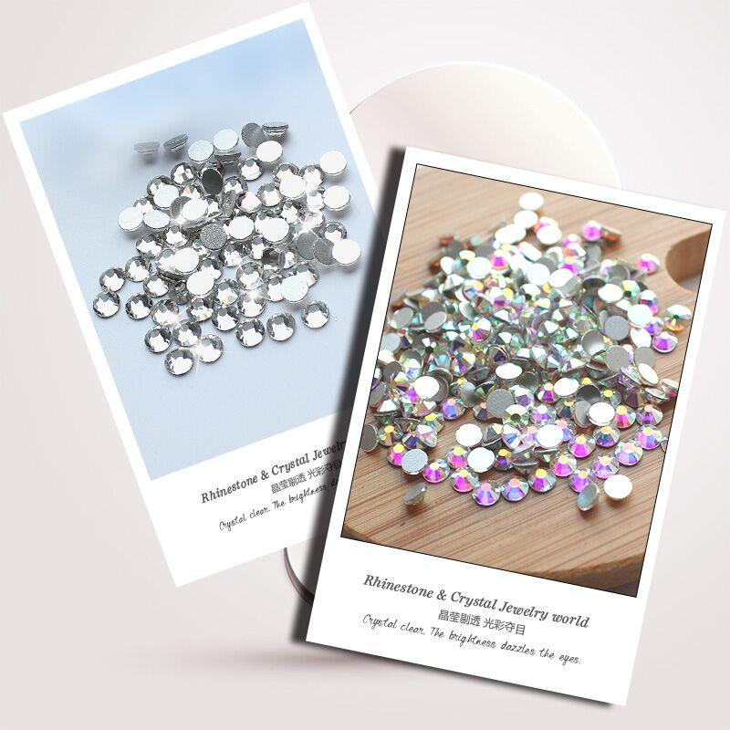 QIAO SS3-SS40 (1.3mm-8.4mm) AAA rhinestone crystal AB clear Niet - Kunsten, ambachten en naaien - Foto 5