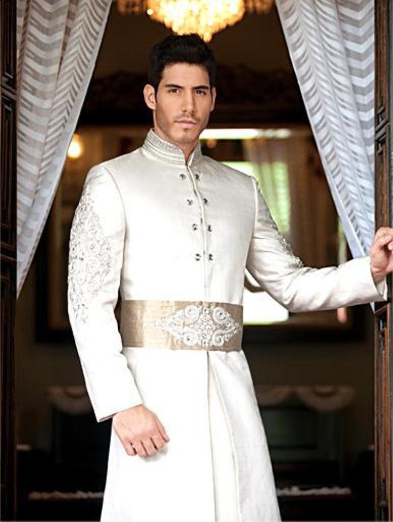 Men New Designer Wedding Groom Indowestern Sherwani Casual