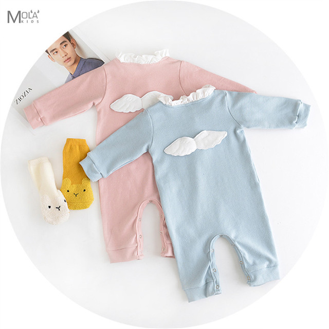 406d530eae62 Kikikids New Born Baby Girls Rompers Infant Boys Clothes Kawaii Baby ...