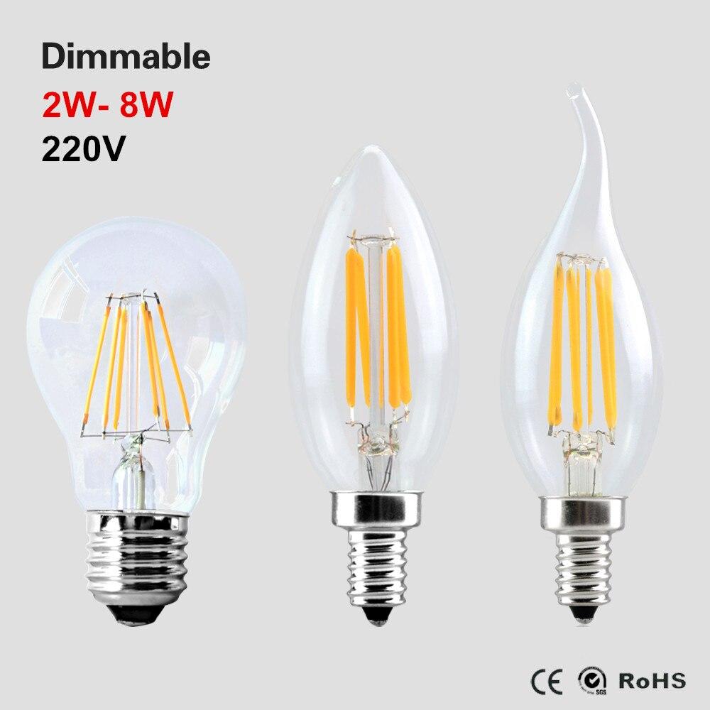 Buy B22 110v 220v 40w Candle Vintage Edison Filament: Aliexpress.com : Buy Antique Edison Led Bulb Lamp 110V